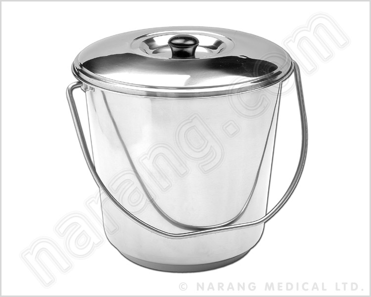 Bucket With Cover Stainless Steel Bucket Stainless Steel