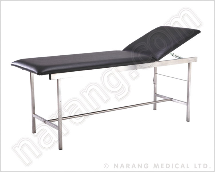Examination table bed