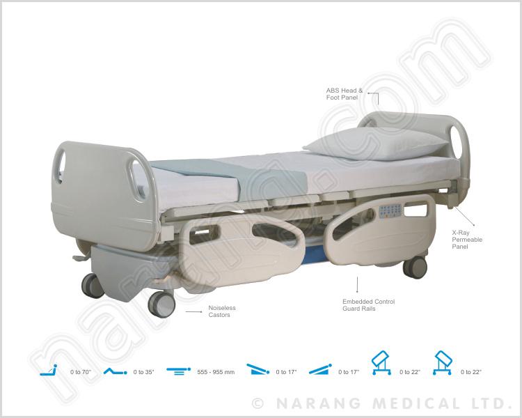 ICU Beds, Manufacturer ICU Electrical Beds, Critical Care Bed