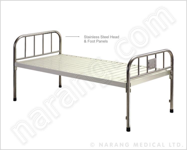 standard plain hospital bed