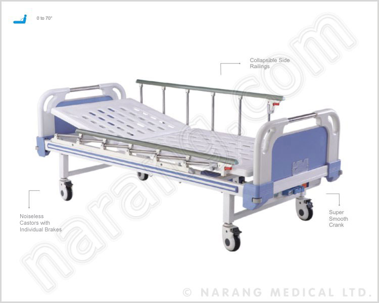 Semi-Fowler Bed, Manual - Semi Fowler Bed, Hospital Semi Fowler Beds, Semi Fowler Bed