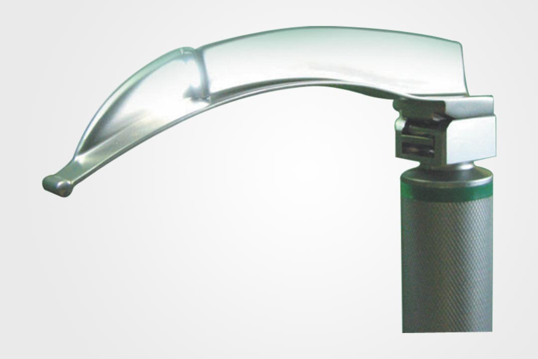 Miller Type Reusable Fibre Optic Laryngoscope Blade