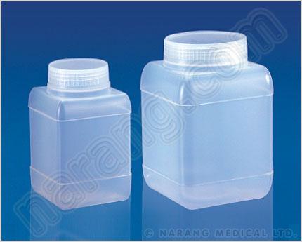 Plastic Ice Bucket Pneumatic Trough Laboratory Carrier