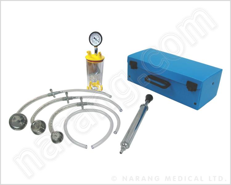 Vacuum Extractor SetAspirator Manual Electrically