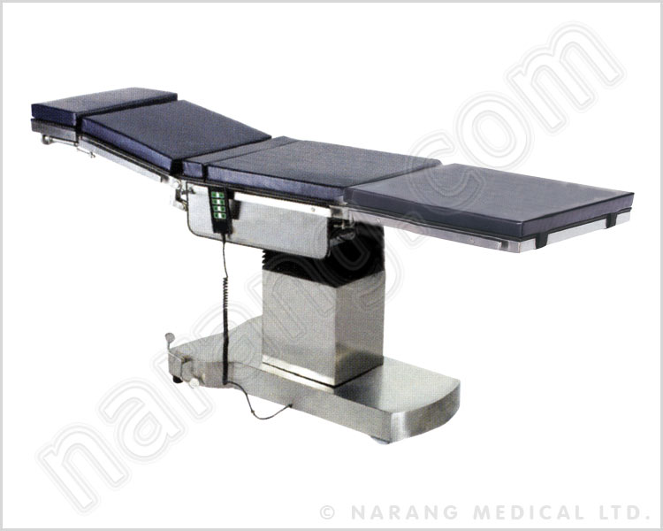 c-arm compatible, fully electromatic o.t. table - ot603
